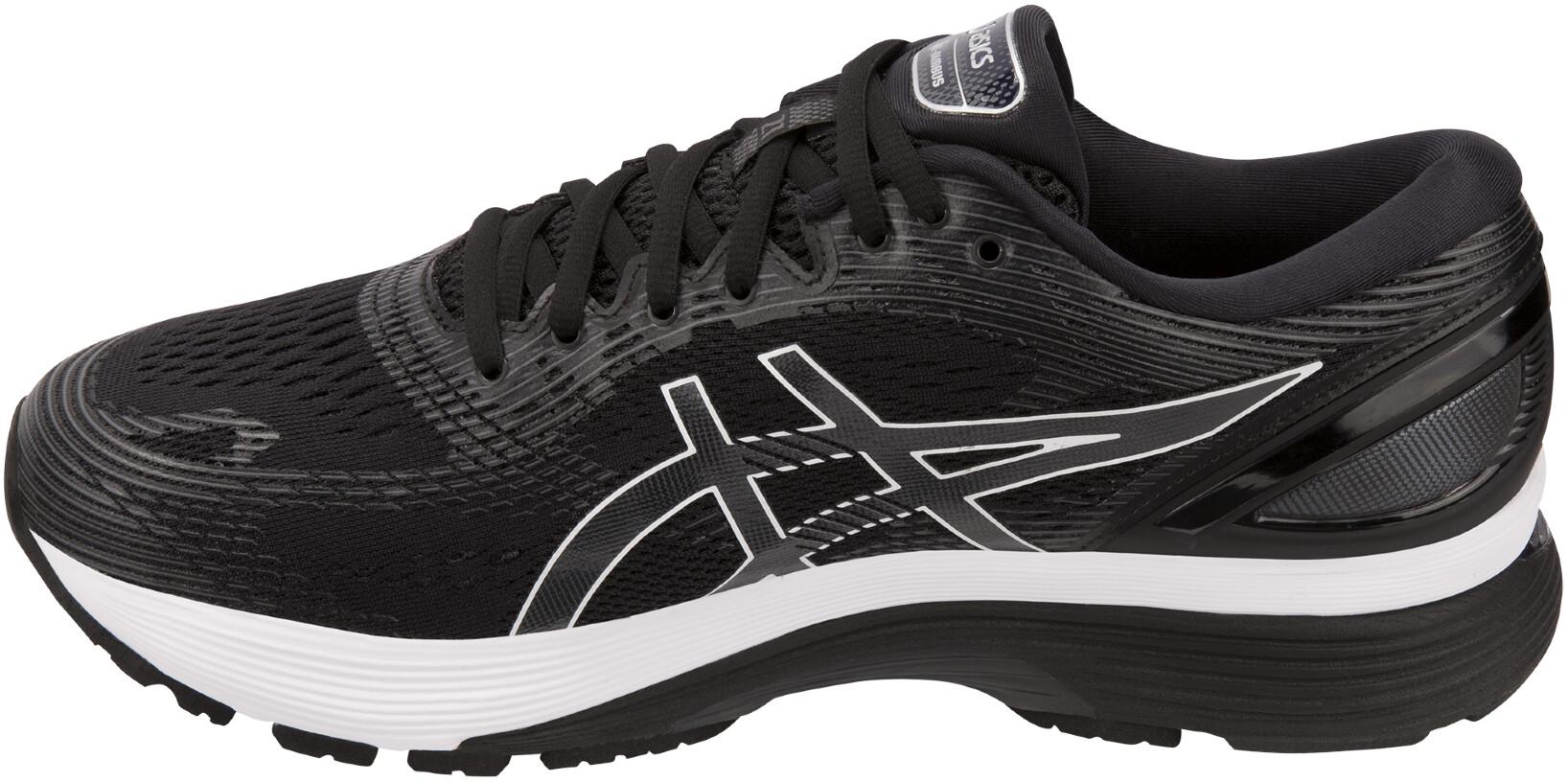 d65da20bb946 asics Gel-Nimbus 21 Chaussures Homme, black/dark grey - Boutique de ...